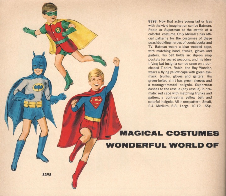 Magical Costumes for the Wonderful World of Make-Believe - McCalls Home catalogue, Fall/Winter 1966-67
