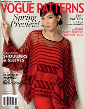 Vogue Patterns magazine, February/March 2016