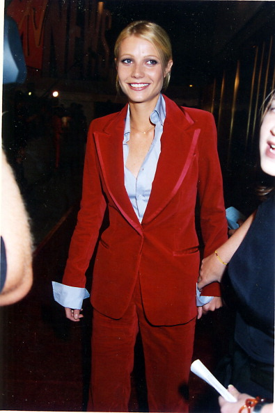 Gwyneth Paltrow during 1996 MTV Video Music Awards in New York City, New York, United States. (Photo by Jeff Kravitz/FilmMagic, Inc)