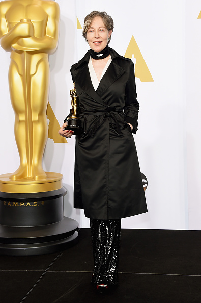 Milena Canonero at the 87th Academy Awards, February 2015