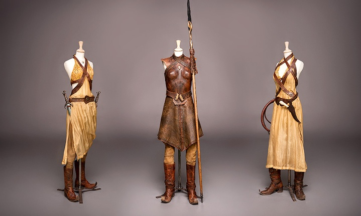 Sand Snakes costumes from Game of Thrones S5