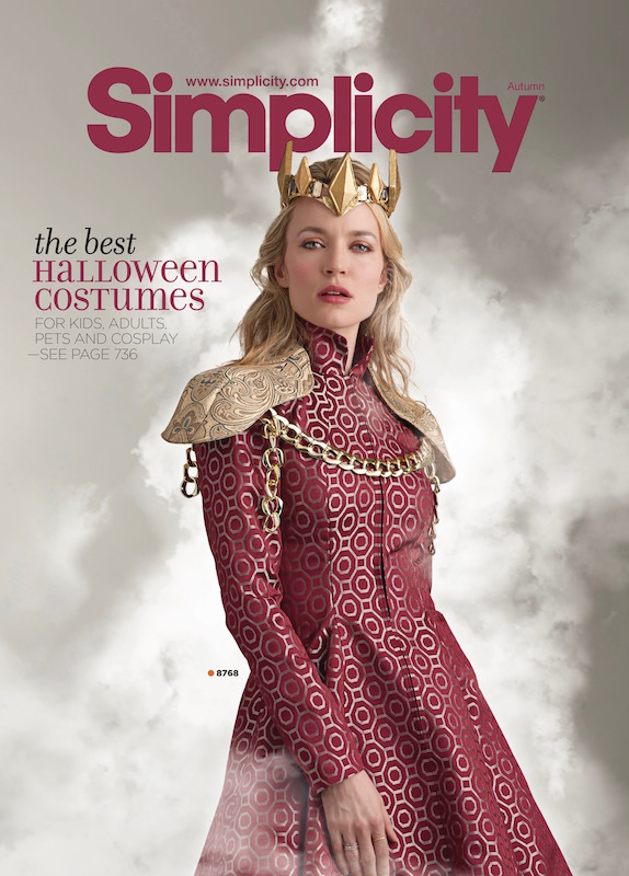 Queen Cersei pattern S8768 - Simplicity catalogue Autumn 2018