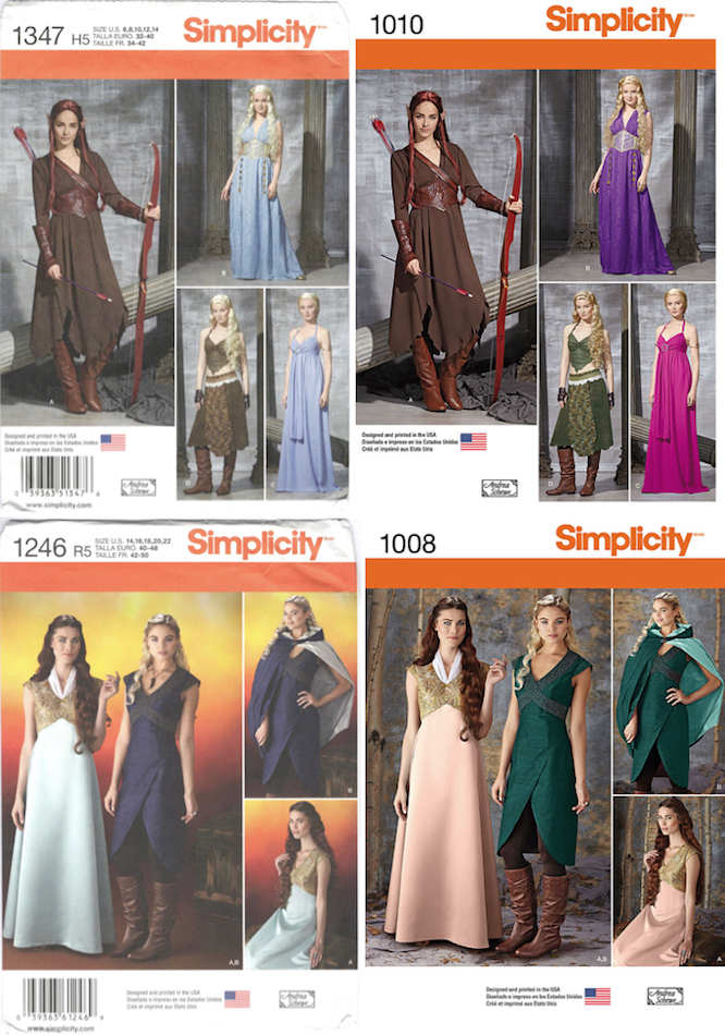 Game of Thrones Costume Patterns – PatternVault