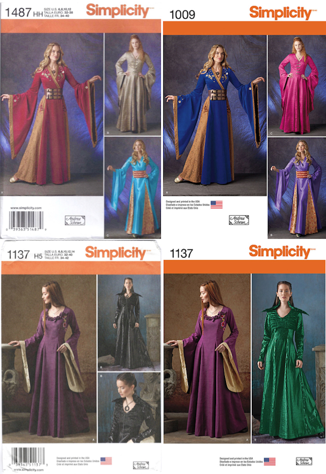 Game Of Thrones Costume Patterns PatternVault Interesting Simplicity Costume Patterns