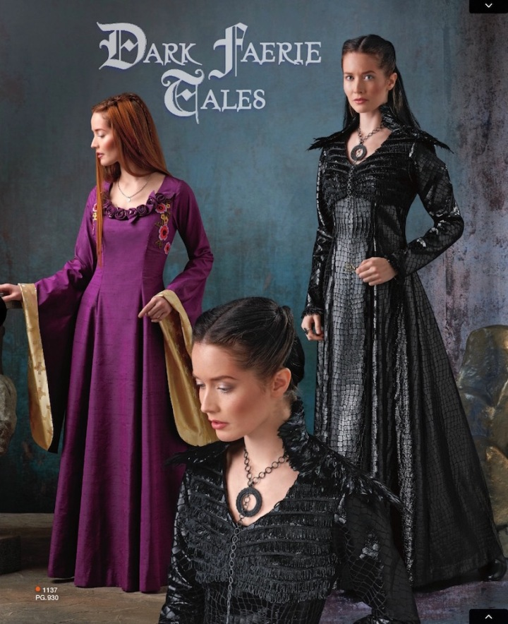 Sansa Stark / Game of Thrones costume pattern S1137 in Simplicity Summer 2015 lookbook