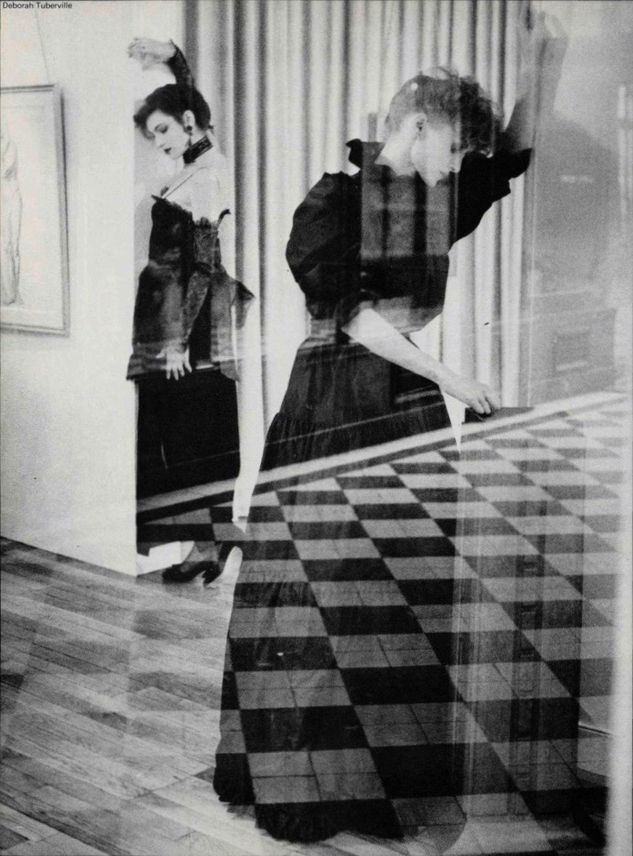 Nina Ricci Boutique and Balenciaga photographed by Deborah Turbeville, 1982.