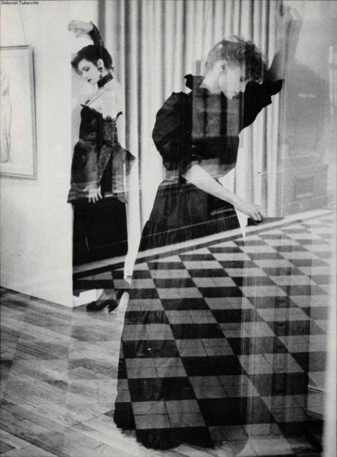 Nina Ricci Boutique and Balenciaga photographed by Deborah Turbeville, 1982.