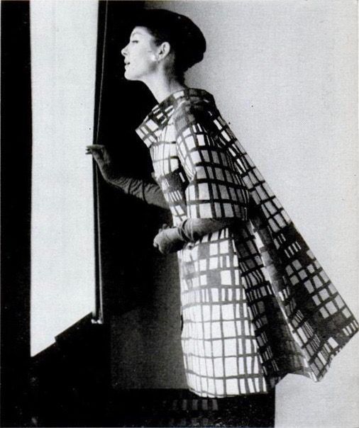 Scaasi jacket available as a Spadea pattern, LIFE June 4, 1956. Photo: Sharland