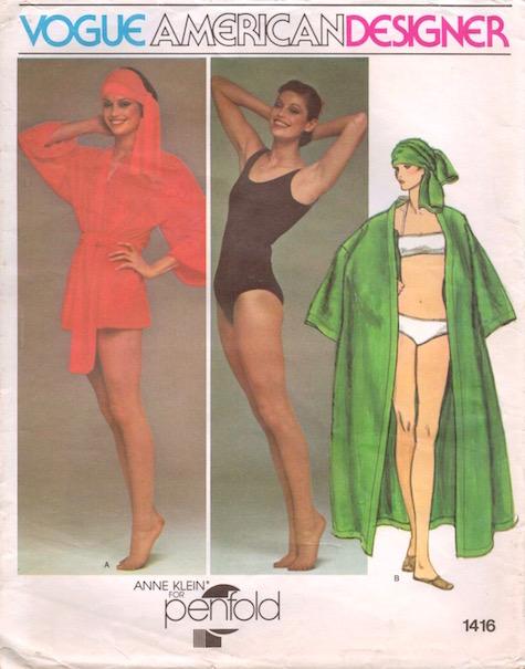 1970s Donna Karan at Anne Klein for Penfold pattern Vogue 1416