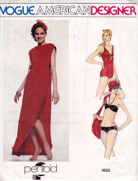 1970s Penfold pattern Vogue 1655