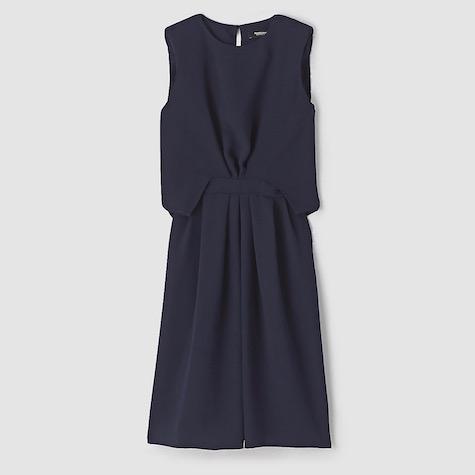 Rachel Comey's Delane dress in solid navy