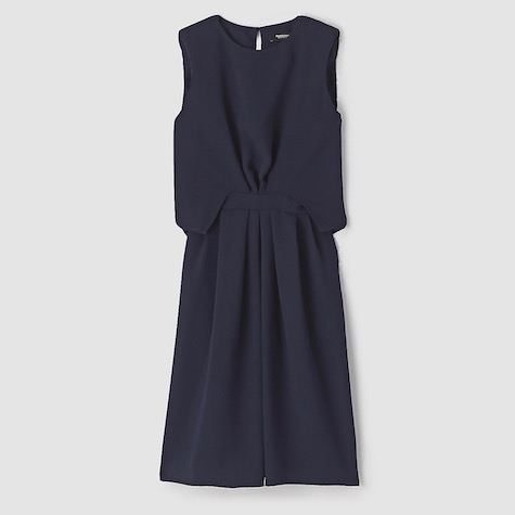 Rachel Comey's Delane dress in solid navy