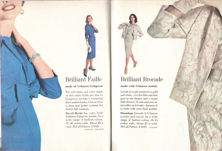 1950s dress and jacket ensemble patterns McCall's 5023 and McCall's 5029