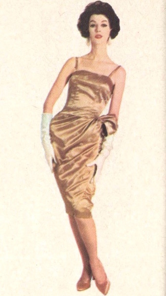 Dovima wears McCall's 4425 for Celanese, 1959