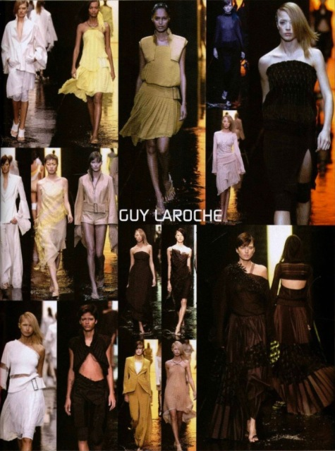 Guy Laroche Spring 2002 collection by Mei Xiao Zhou