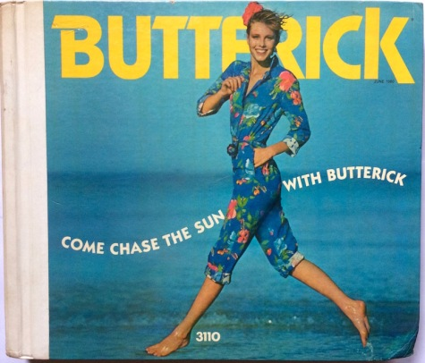 Butterick 3110 jumpsuit, Butterick catalogue, June 1980