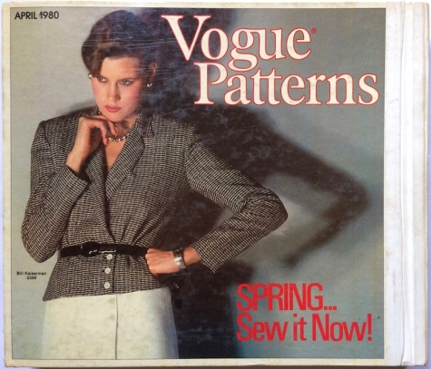 Vogue 2366 by Bill Kaiserman. Vogue patterns catalogue, April 1980