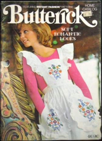 Butterick 4090 by Betsey Johnson of Alley Cat, Butterick Home Catalog, Spring 1975
