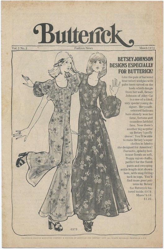 2acffc33c Betsey Johnson: Butterick Patterns – PatternVault