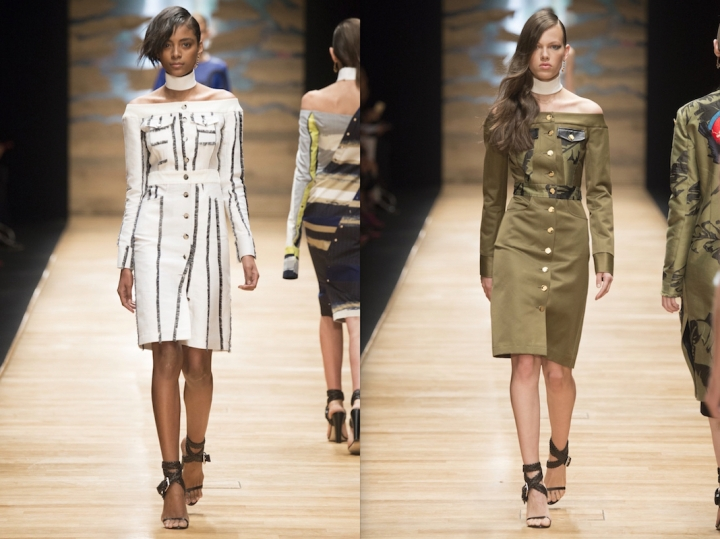 Looks 9 and 15 Guy Laroche Spring 2016 collection