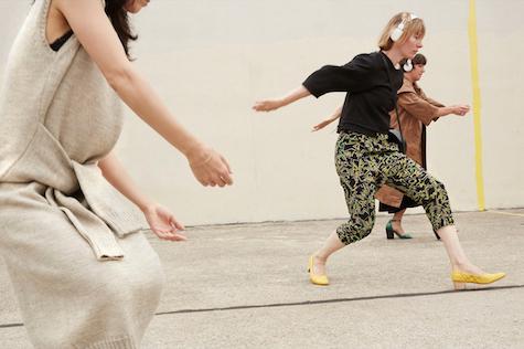 Dancers from the robbinschilds company (Pollock sarouel pant), Rachel Comey Resort 2016