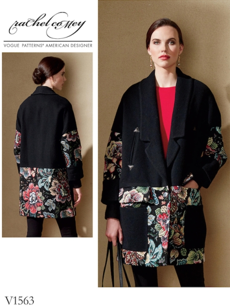Vogue 1563 by Rachel Comey (2017) Karloff coat