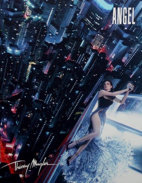 Mugler Angel perfume ad, 2003