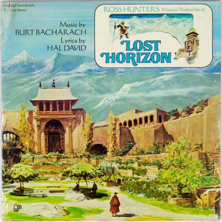Lost Horizon original soundtrack on vinyl - music by Burt Bacharach, lyrics by Hal David