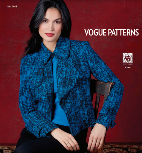 1597 Vogue Patterns lookbook Fall 2018