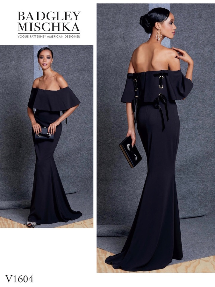 Vogue 1604 by Badgley Mischka