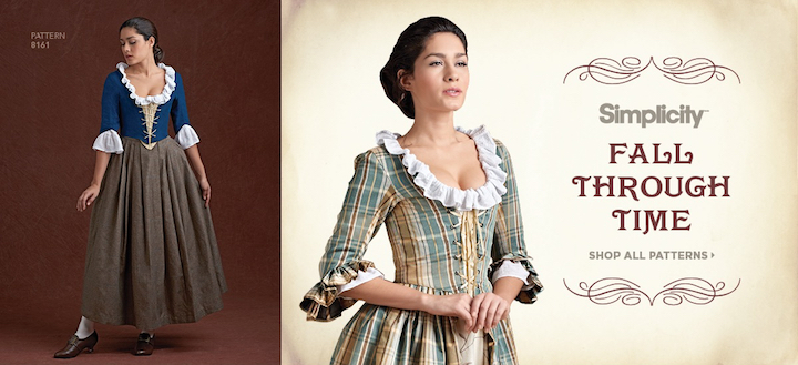 Fall Through Time - Simplicity Outlander costumes by American Duchess