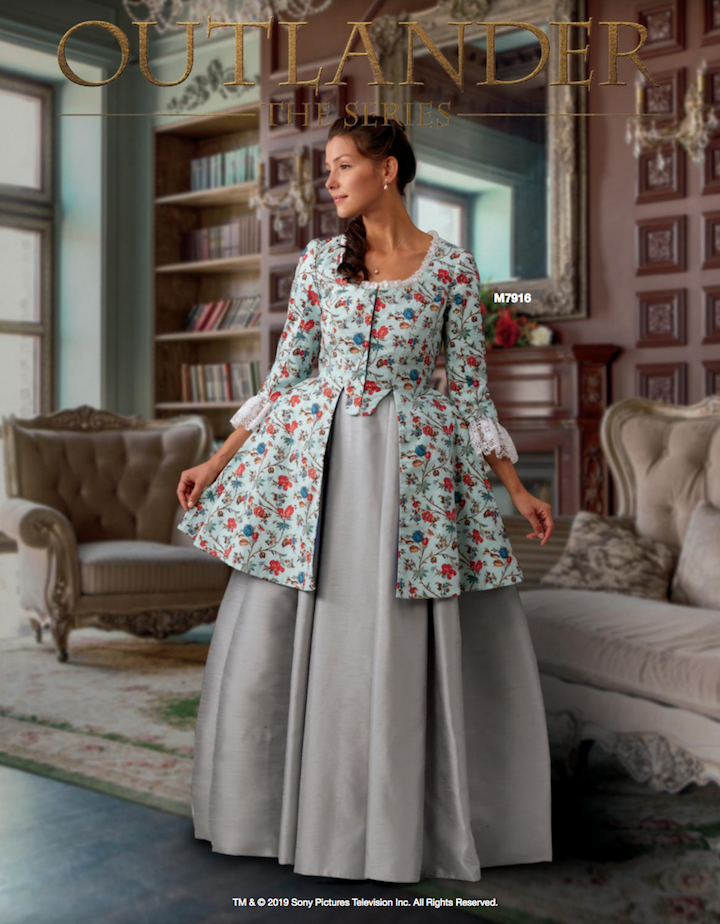 Outlander costume M7916 in McCall's Early Spring 2019 lookbook