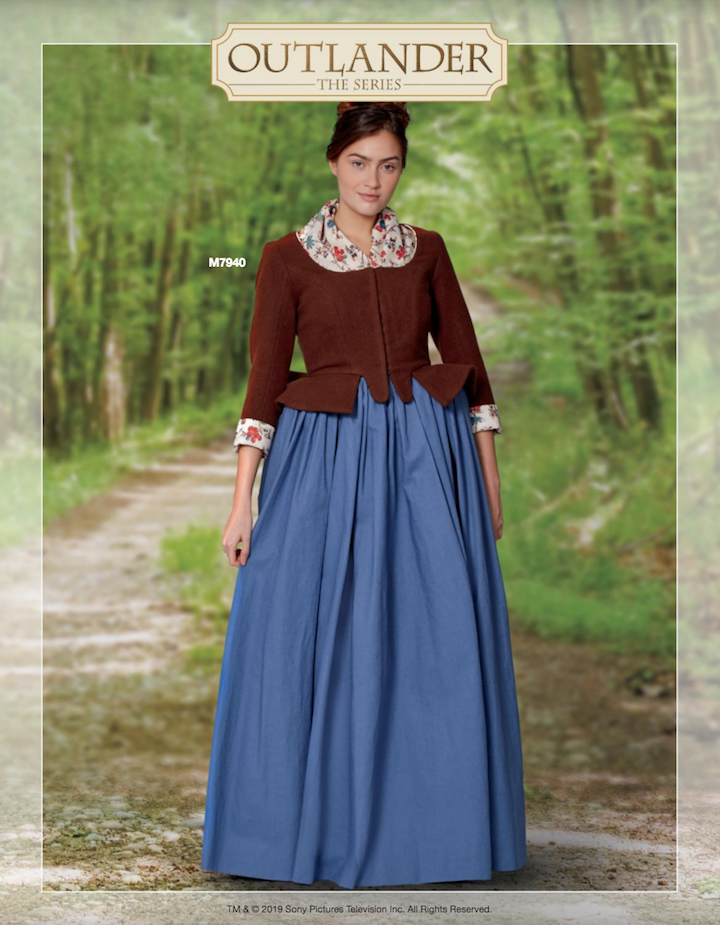 Outlander costume McCall's 7940 (2019)