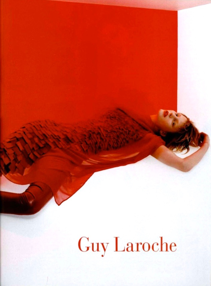 Guy Laroche advertising campaign, Fall 2001.