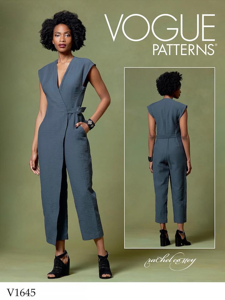 Rachel Comey Steadfast jumpsuit pattern V1645