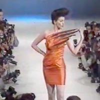 Antony Price Macaw dress