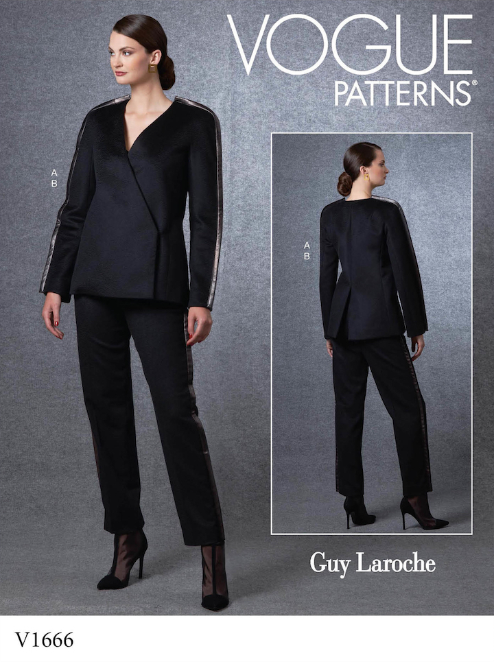 Vogue 1666 by Guy Laroche