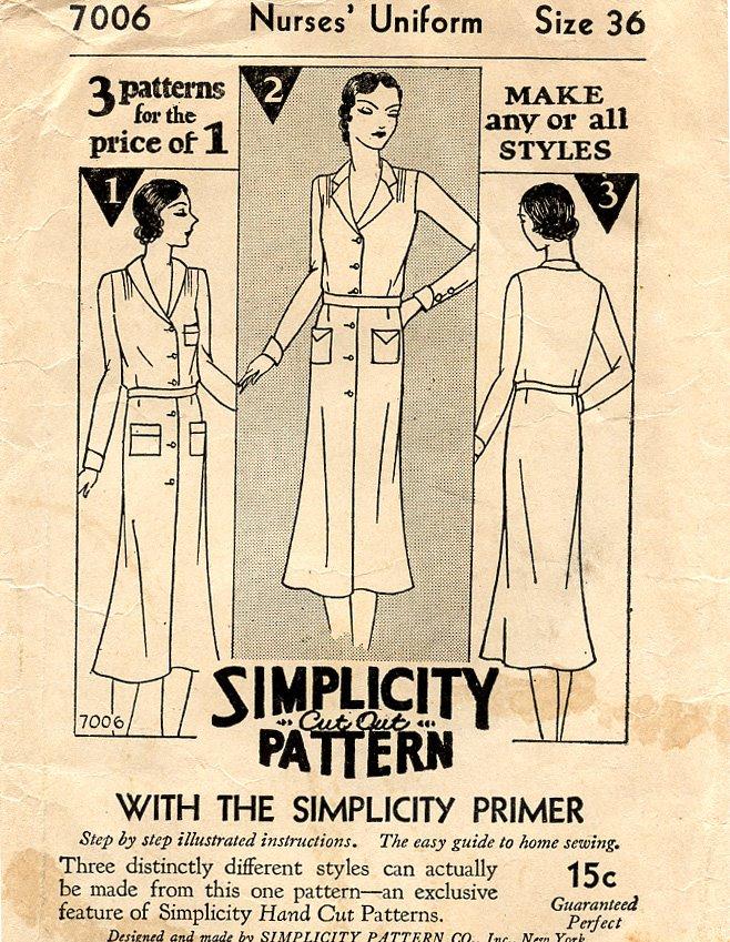Simplicity 7006 (ca. 1929)