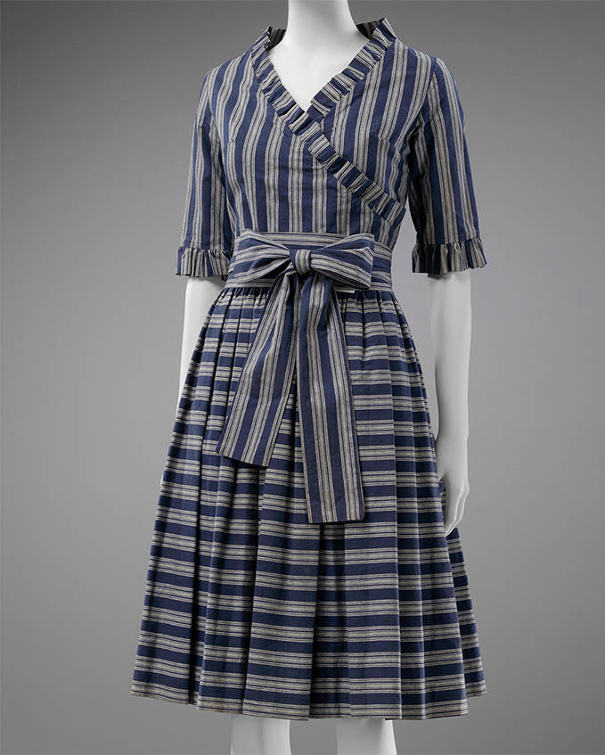'Georgie' dress, Mary Quant, 1962, England. Museum no. T.74-2018. © Victoria and Albert Museum, London. Given by Sarah E. Robinson