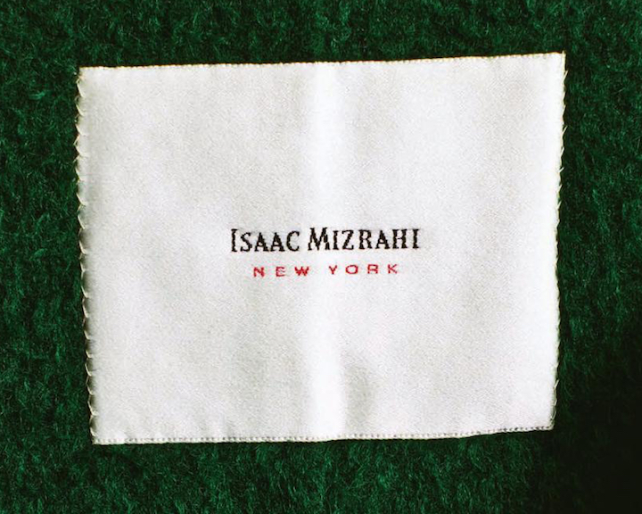 Isaac Mizrahi New York logo design by Tibor Kalman