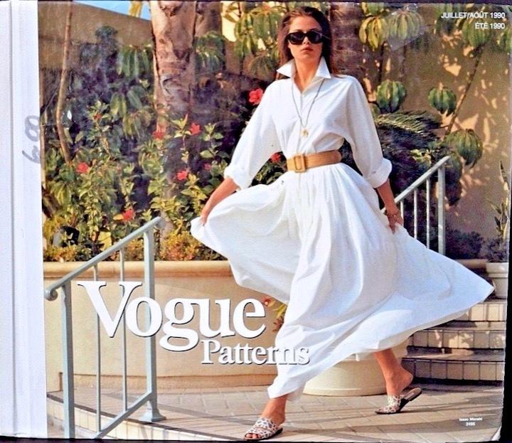 Vogue 2495 Vogue cat JulAug 1990