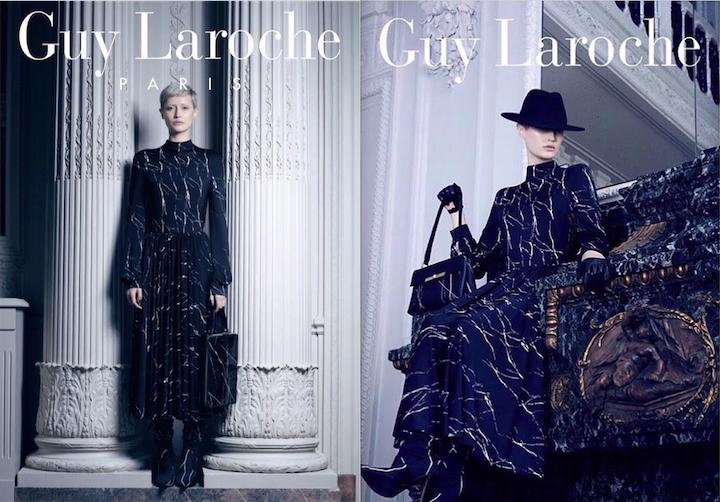 Guy Laroche FW19 campaign