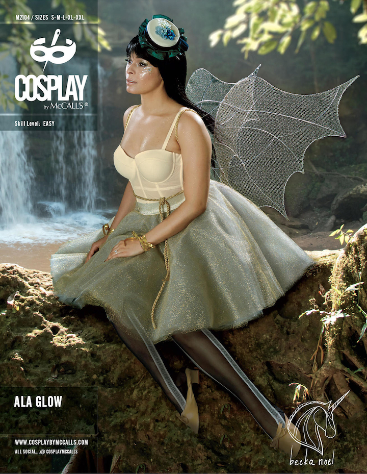 Cosplay by McCall's M2104 - Ala Glow by Becka Noel (2017)