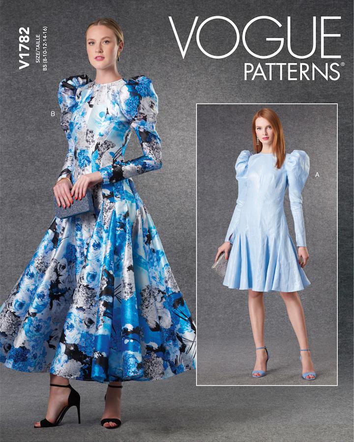 V1782 dress after Sarah Burton for McQueen (2021)
