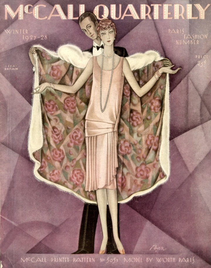 McCall Quarterly, Winter 1927–28 (Paris Fashion Number) Illustration: Ben-Hur Baz. Image: Debbie Zamorski.