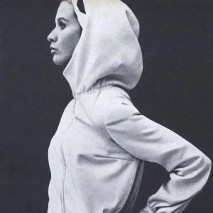 Françoise Rubartelli in Vogue, January 1965. Photo: Franco Rubartelli